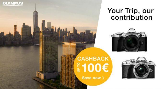 CashBack: Die Olympus Winter-Promo startet!