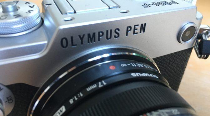 Zweitkamera: Olympus PEN-F, das Biest