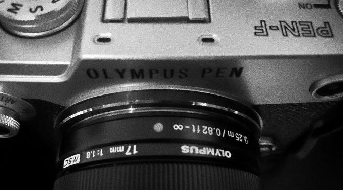 AUS, AUS,AUS!: Olympus stellt die PEN-F ein.
