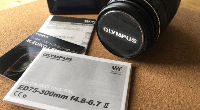 Update: Olympus 75-300 II bei Amazon