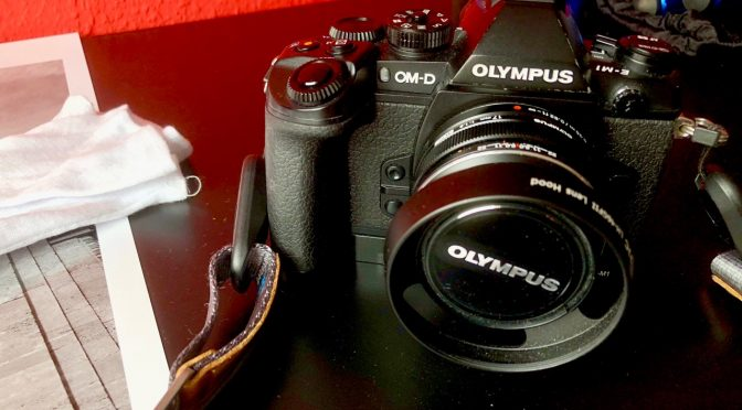 Bye, Bye: Meine Olympus EM-1 Mk.I verläßt mich