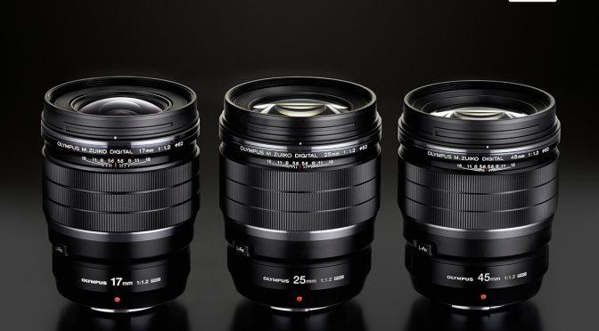Neu: Olympus M.Zuiko Digital 1,2/45mm & 1,2/17mm vorgestellt