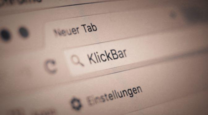 KlickBar: Links zum Wochenende 17/16