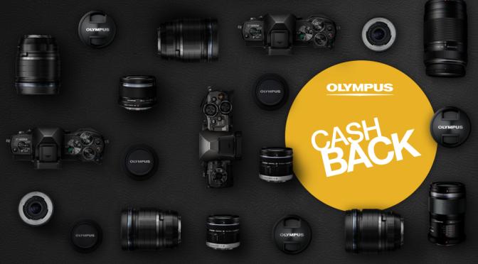 CashBack: Alles neu macht der Mai, Olympus Aktion ab heute