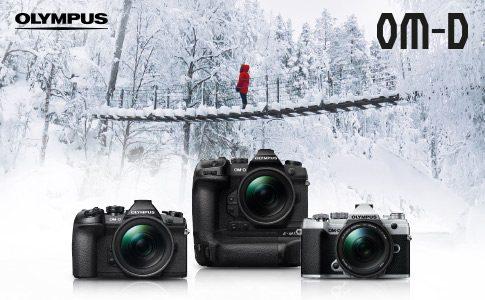Olympus Winter Cash-Back bis zu 500€