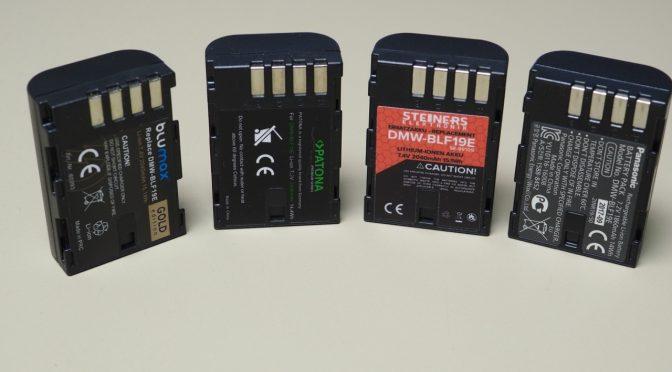 Akkus für die Panasonic Lumix G9! Wie schlagen sich die Nachbauten?