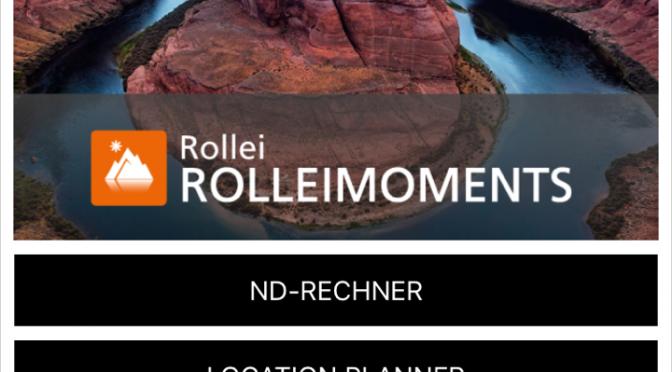 Praktische FotoApp von Rollei