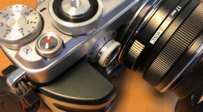 PEN-F: Creative-Dial, Kleines Rädchen, große Wirkung!